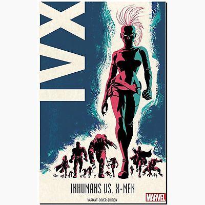 Inhumans vs. X-Men Bd. 1 von 2 VARIANT 222 Ex. Limitiert Marvel DC PANINI COMIC