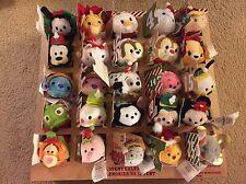 NIB Disney Store Tsum Tsum Christmas Advent Calendar 25 Tsum Tsums