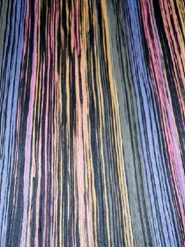 Rainbow gefärbtes Furnier Holz bunt gefärbt SaRaiFo 250x32cm