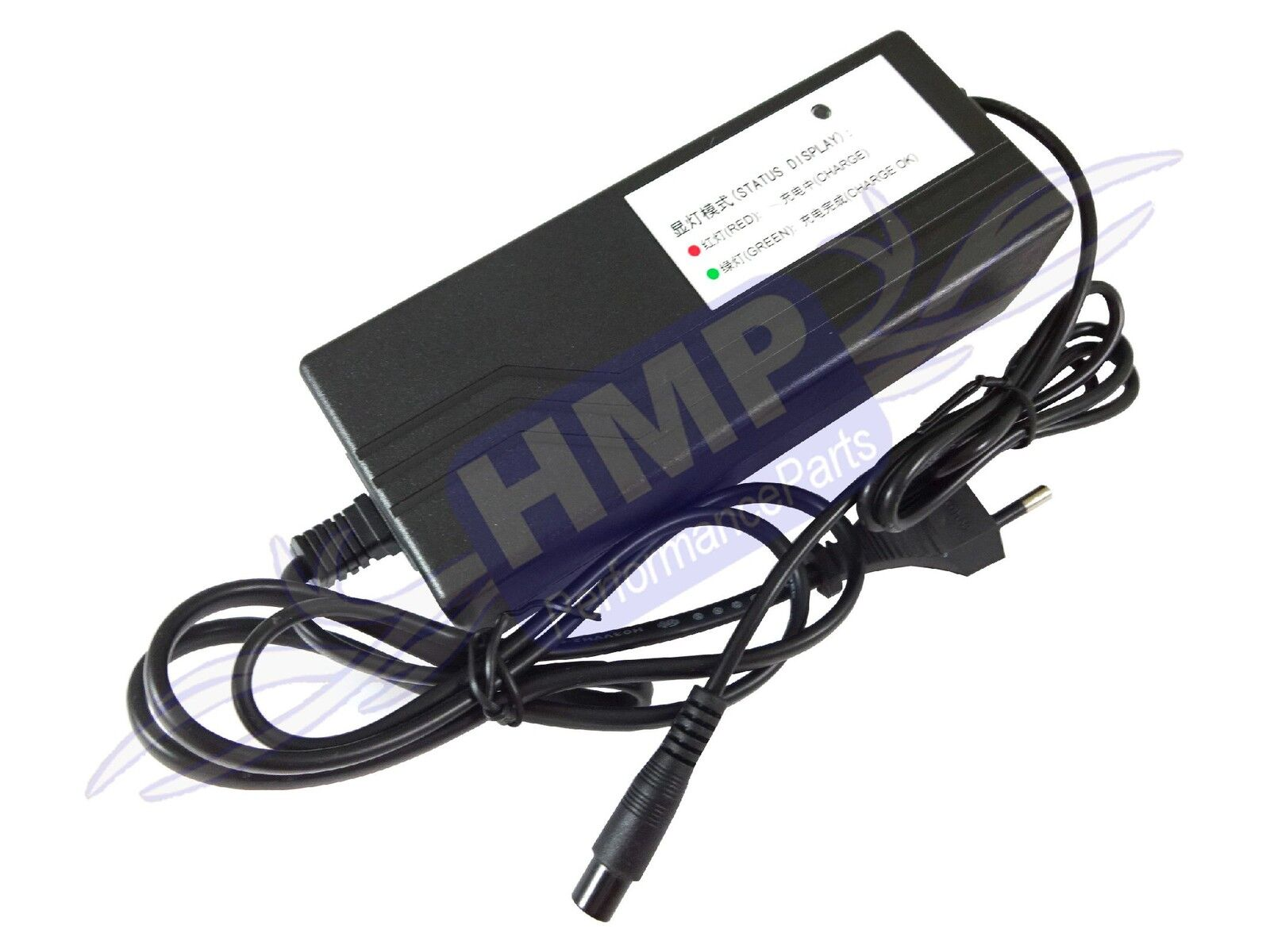 Hmparts E-Scooter Board Bike 3-poliges Charger 36V 1,5A - Li-Ion Type 4