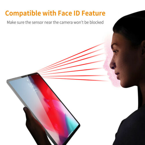 """Premium HD Tablet Tempered Glass Screen Protector For 11/"""" 12.9/"""" Apple iPad Pro"""