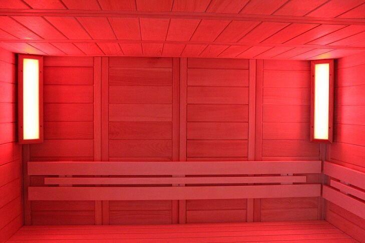 LED Sauna Farblicht Farblicht Farblicht Saunabeleuchtung RGB für Sauna und Infrarotkabinen Lumina S fd37b0