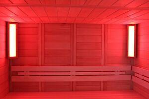 LED Sauna Farblicht Saunabeleuchtung RGB für Sauna und Infrarotkabinen Lumina S
