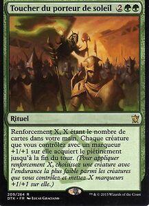 MTG-Magic-Les-dragon-de-Tarkir-Toucher-du-porteur-de-soleil-Rare-VF