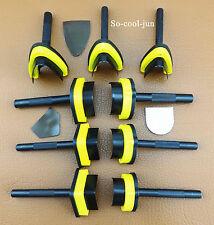3pcs Premium Leather Craft V-point Belt Strap End Punch Tool Set Kit Easy Cuts
