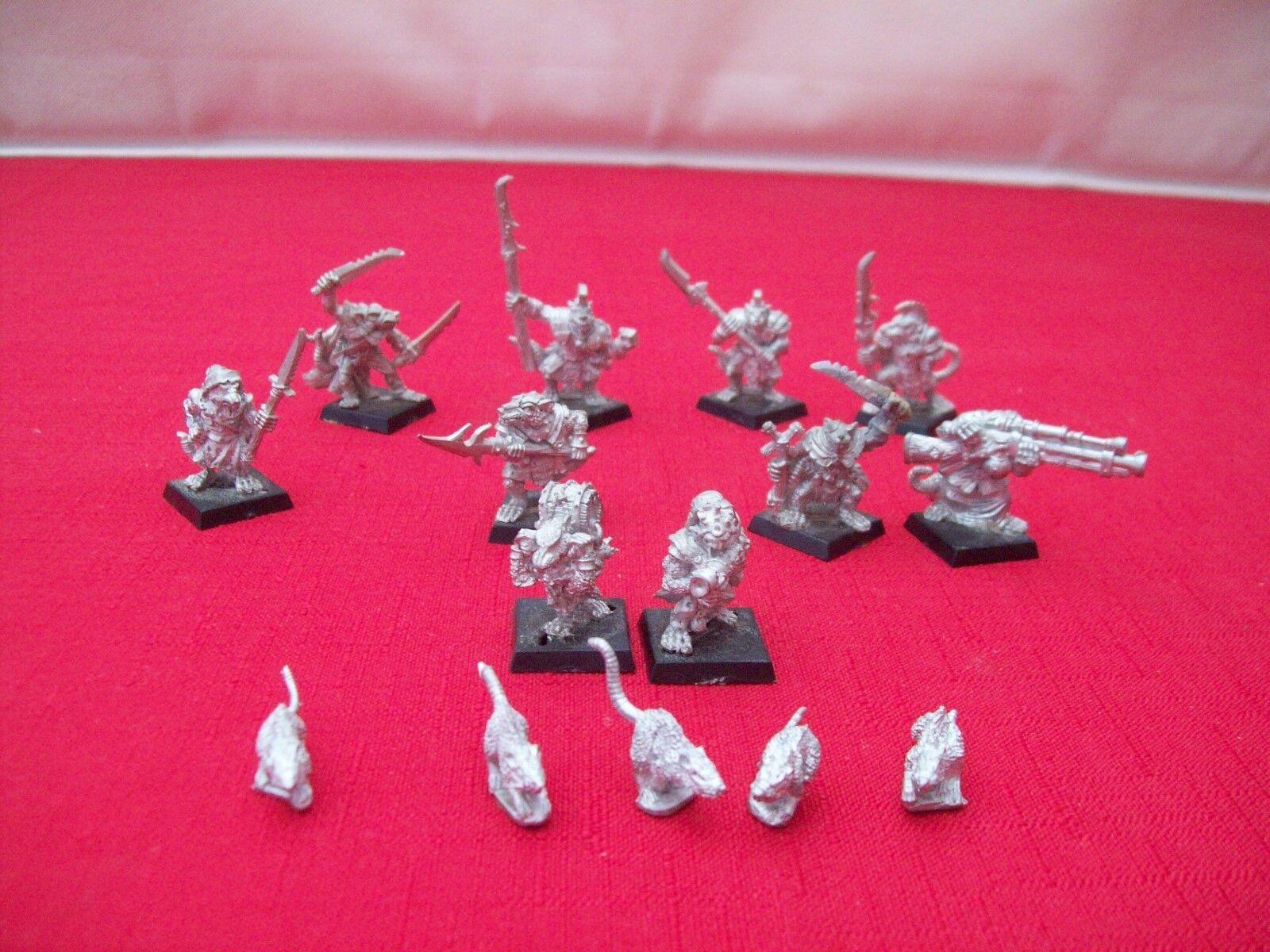 Warhammer Fantasy SKAVEN ARMY-Métal-non peinte peinte peinte 7cf5ff