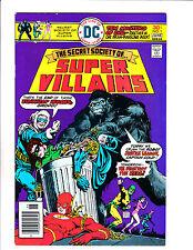SECRET SOCIETY OF SUPER VILLAINS #1  [1976 FN-]  ROBOT JUSTICE LEAGUE COVER!