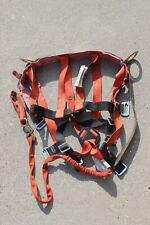 Vtg Klein Tools Spa2024 M Lineman Climbing Safety Harness Lanyard