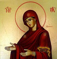"Maria Muttergottes ""Gerontisa"" Madonna Ikone Ikonen Icon Icona Icone Icoon Ikona"