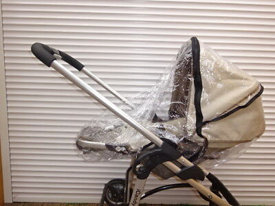 New RAINCOVER Zipped to fit iCandy Cherry Carrycot /& Seat unit Pushchair