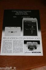 BL19=1972=VOXSON STEREO 8=PUBBLICITA'=ADVERTISING=WERBUNG=