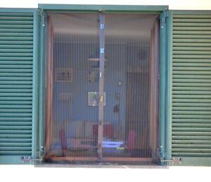 ZANZARIERA PER FINESTRA CHIUSURA MAGNETICA 90x160cm NERA, ISTRUZIONI CHIARE