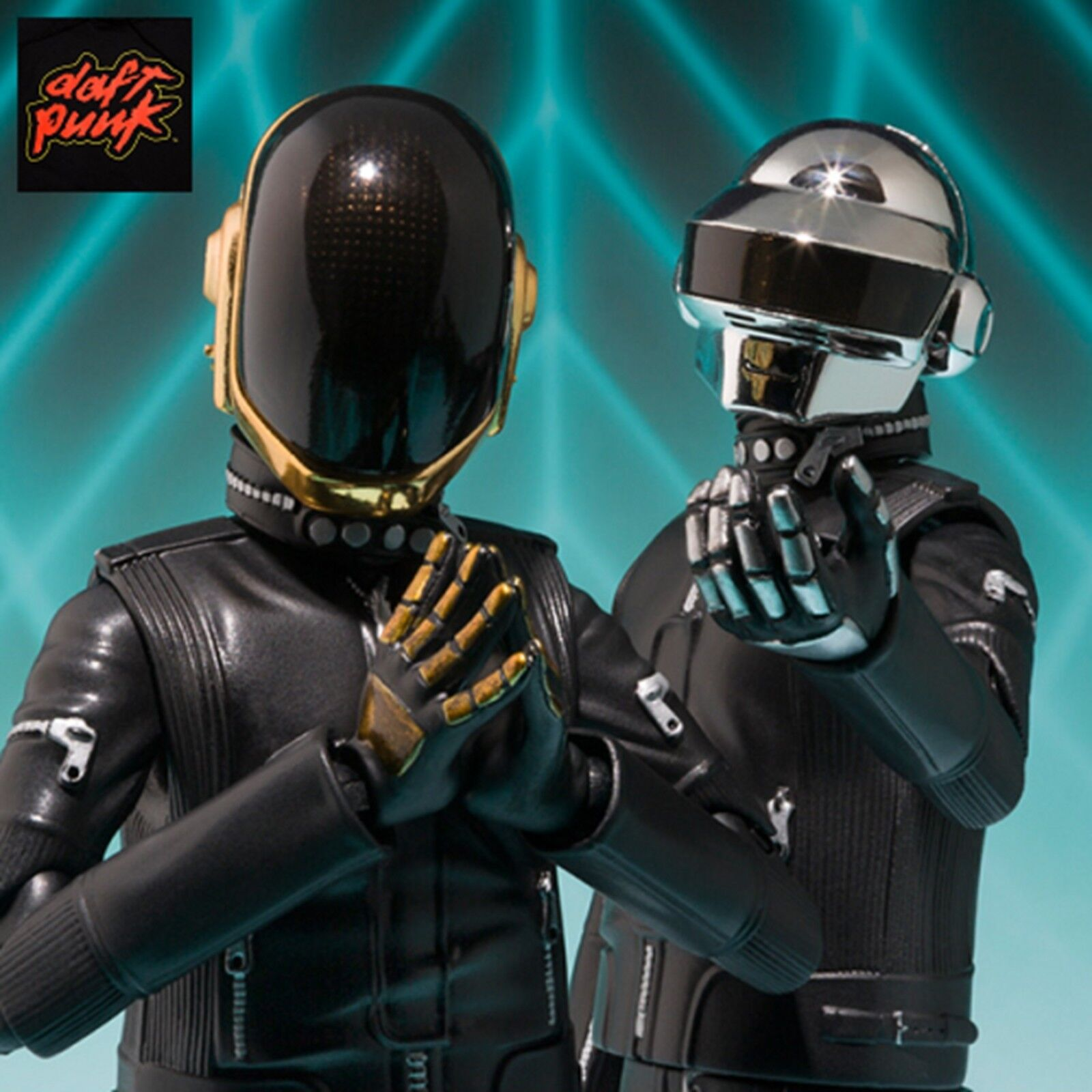 S.H.Figuarts Daft Punk Thomas Bangalter Guy-Manuel Figure Set of 2 Bandai New
