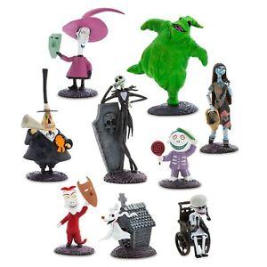 Disney-Pesadilla-antes-de-Navidad-Deluxe-Figura-Figuras-Figura-9-Pieza-Set