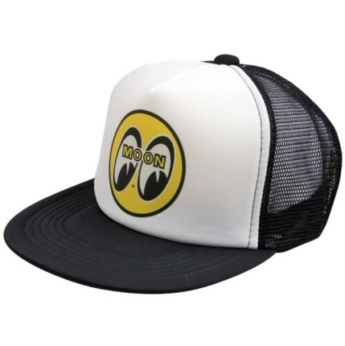 MOON MOONEYES MOTORCYCLE HOTROD TRUCKER CAP HAT