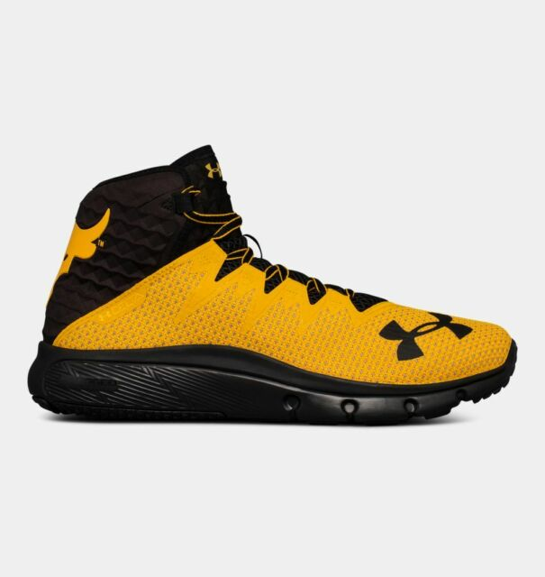 f65f1ad94f Under Armour x Project Rock Delta Yellow Sizes US 9 to 12.5 Training  3021055-701