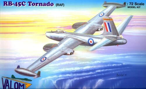 Valom Models 1//72 NORTH AMERICAN RB-45C TORNADO British Royal Air Force
