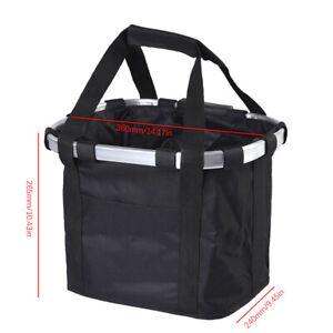 Velo-Cadre-avant-panier-Pet-Dog-Carrier-Large-Capacite-Impermeable-Guidon-Sac