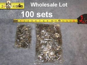 100ea-RV-Bronze-Twin-Roller-Door-Catch-Cabinet-Cupboard-Drawer-Lock-Latch