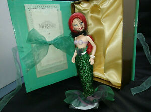 NEW-DISNEY-LIMITED-ED-LITTLE-MERMAID-ARIEL-PORCELAIN-DOLL-KNICKERBOCKER-TOYS-98