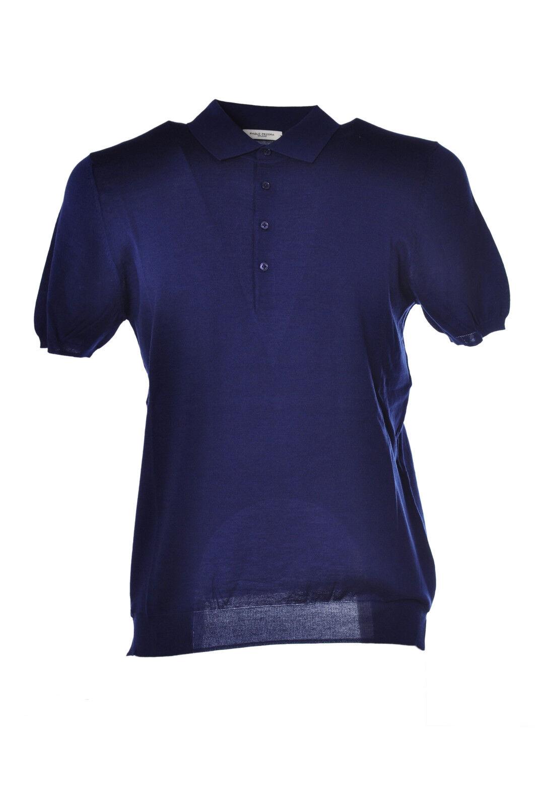 Paolo Pecora  -  Polo - Male - M - bluee - 1440512B162450