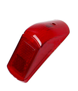Ciao Rear Light Lens Glass Red Lighting Retro Rear Tzg New