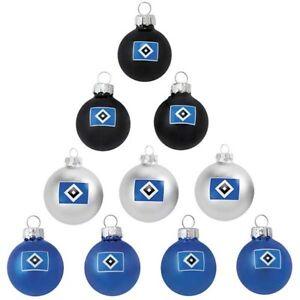 Einzelne Christbaumkugeln.Details Zu Hsv Weihnachtsbaumkugeln Christbaumkugeln Weihnachtskugeln Mini 10er Set Klein