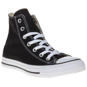 Hi cordones negras de Converse con deporte Star de Zapatillas Canvas All wEYqxvvH
