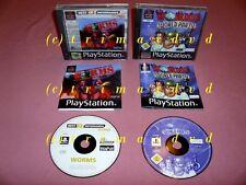 PS1 _ Worms & Worms World Party _guter Zustand _Über 1000 weitere Spiele im SHOP
