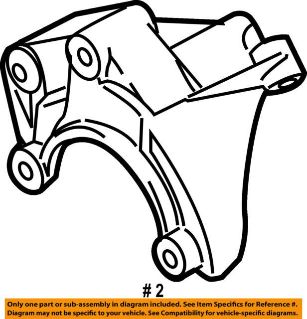 Audi A6 Oem Power Steering Pump W Bracket 4f0145155h For Sale