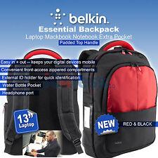 Belkin Bag Backpack 13'' For laptop MacBook Pro / Air Notebook Extra Pocket New