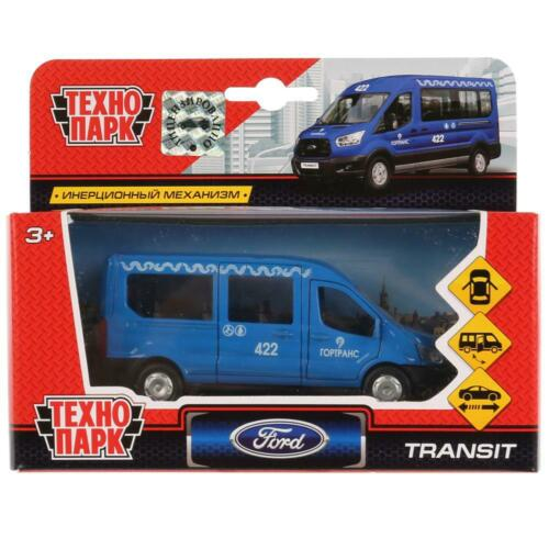 Diecast Vehicles Scale 1:36 Ford Transit Moscow City Transport Model Car
