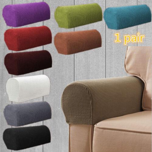 2 Stk Sofa-Armlehnenbezug Armlehnenschutz dehnbar dehnbar fleckenabweisend