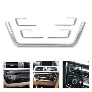 5-Mittelkonsole-Dashboard-Trim-Abdeckung-Blende-fuer-BMW-3er-F30-F31-F32-F34-F36