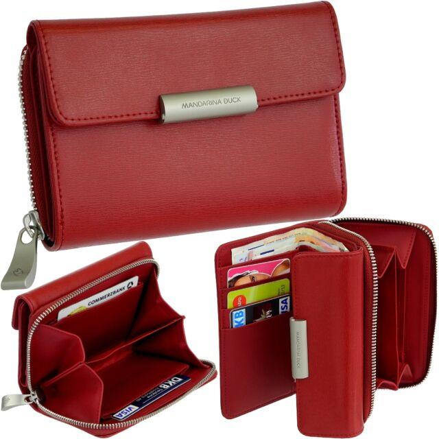 nuovo prodotto d6712 86fd1 Mandarina Duck Hera S Borsa Portamonete Rosso