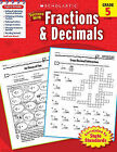 Scholastic Success with Fractions & Decimals, Grade 5 by William Earl (Paperback / softback, 2010)