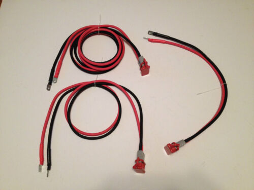ATV UTV RTV 8 FT WINCH WIRING KIT 4 FT QUICK CONNECT 6 GAUGE 2 FT