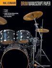Drum Manuscript Paper 9781423488781 by Hal Leonard Publishing Corporation
