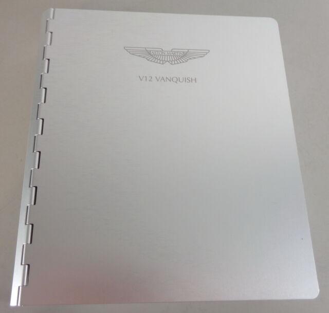Manual De Uso Guia Del Propietario Aston Martin V12 Vanquish 07 2002 Ebay