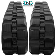 Two Rubber Tracks For Yanmar T210 T2101 450x86x56 Block Tread Free Shipping