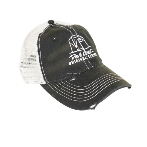 NEW CLAM Dave Genz Distressed Trucker Ice Fishing Hat 12191