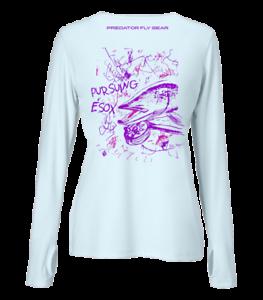 Northern Pike Womens PURSUING ESOX Performance Shirt