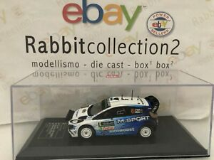 DIE-CAST-034-FORD-FIESTA-RS-WRC-2014-2015-RALLY-SWEDEN-034-DIECAST-CLUB-SCALA-1-43