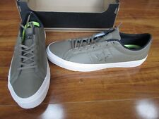 4c9caf3b704e ... item 4 NEW Converse Cons One Star Leather Ox Shoes MENS size 12 Jute  Green 153707C ...