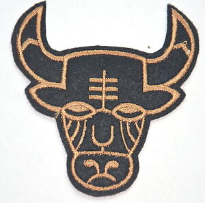 BULL-HEAD-COW-MASK-APPLIQUE-Embroidered-Sew-Iron-On-Cloth-Patch-Badge