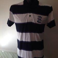 Birmingham City Football Club Polo Neck T Shirt / Top Official Blues Mens Medium