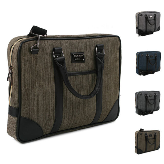 New Mens Business Laptop Bag Briefcase Bag Women Handbag Shoulder Cross Body Bag