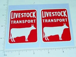 Buckeye//Dunwell Cattle Livestock Trlr Stickers     BK-003