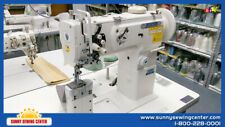 Thor Gc 1760 Double Needle Post Bed Walking Foot Machine New With Table And Motor