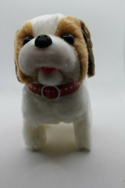 Batteries and Eas The Walking Barking and Tail Wagging Smooth Puppy Dog Pet Toy